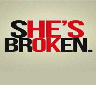 Обои на телефон цитата, сломанный, поговорка, новый, лучшие, shes broken