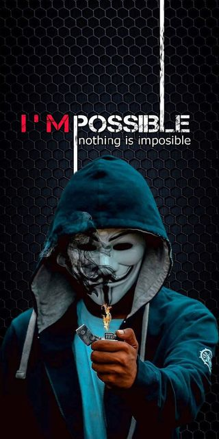 Обои на телефон hackerman, imposible, pubg, i am possible hack, черные, темные, игра, огонь, пабг, хакер, взлом, возможный