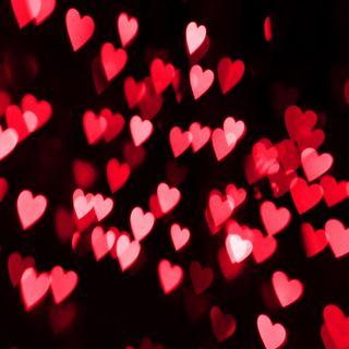 Обои на телефон валентинки, сердце, праздник, любовь, валентинка, боке, love