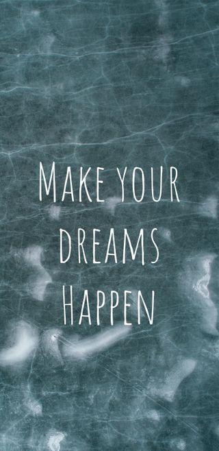 Обои на телефон мечты, цитата, синие, мотивационные, мечта, знаки, высказывания, signs and sayings