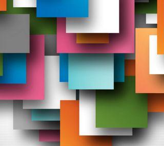 Обои на телефон случайные, цветные, тени, материал, квадраты, блоки, абстрактные, volumes