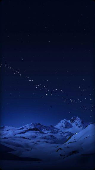 Обои на телефон синие, самсунг, природа, ночь, красота, звезды, дизайн, галактика, samsung design, s7, galaxy s8