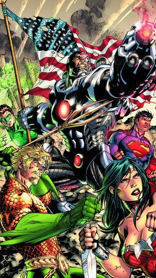 Обои на телефон справедливость, герои, лига, комиксы, dc