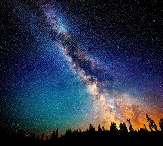 Обои на телефон вселенная, небо, космос, звезды, галактика, galaxy