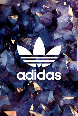 Обои на телефон кристалл, адидас, adidas