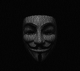 Обои на телефон маска, лицо, приятные, крутые, анонимус, xperia
