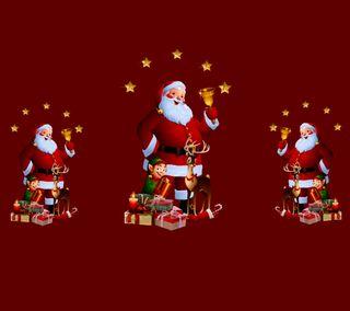 Обои на телефон санта, рождество, праздник, christmas 59