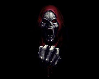 Обои на телефон жнец, фантазия, смерть, скелет, новый, мрачные, крутые, вампиры, monster