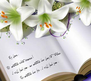 Обои на телефон книга, цитата, любовь, love