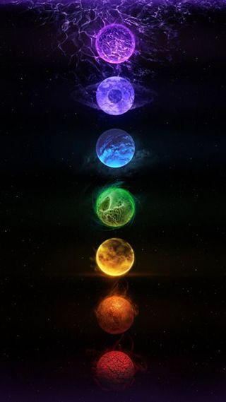 Обои на телефон энергетики, фиолетовые, черные, цветные, синие, красые, зеленые, желтые, духовные, chakra