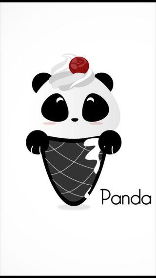 Обои на телефон китай, черные, панда, лед, животные, белые