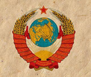 Обои на телефон эмблемы, ussr, soviet, coat of arms, cccp