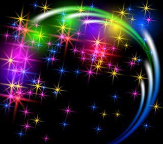 Обои на телефон светящиеся, фон, сверкающие, звезды, блестящие, абстрактные