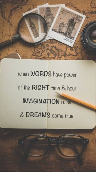 Обои на телефон вдохновение, цитата, высказывания, imagination