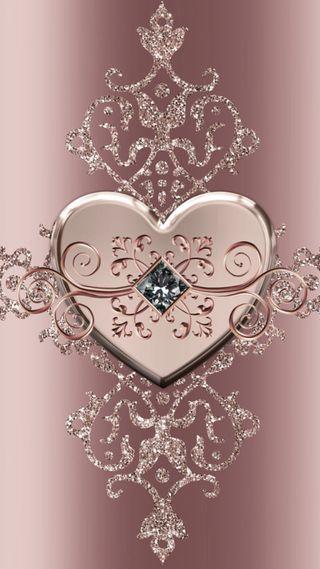 Обои на телефон сердце, металл, любовь, love heart piece