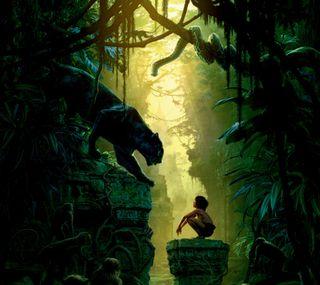 Обои на телефон книга, джунгли, фильмы, tjb
