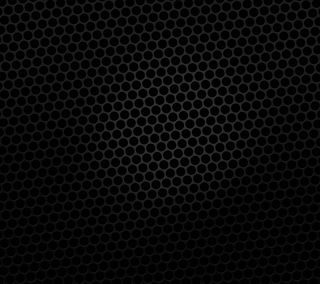 Обои на телефон mesh, steel grid, черные, темные, шаблон, простые, металл, стальные, круги, сетка