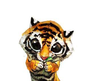 Обои на телефон тигр, gfd