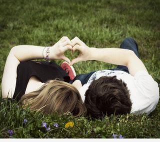 Обои на телефон поцелуй, сердце, пара, милые, любовь, love