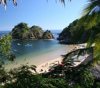 Обои на телефон мексика, природа, пляж, море, ангел, tourist, puerto angel oaxaca, puerto, port, oaxaca
