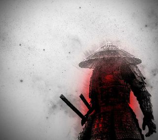 Обои на телефон art, martial, арт, японские, меч, воин, самурай, древний