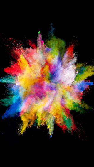 Обои на телефон взрыв, эпл, цветные, телефон, супер, рисунки, брызги, абстрактные, explosion x, apple