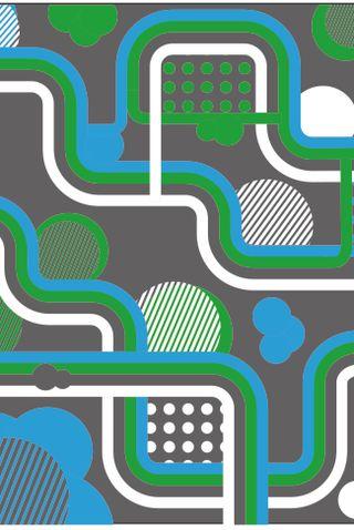 Обои на телефон фотошоп, синие, зеленые, дизайн, граффити, арт, art