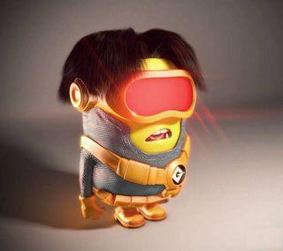 Обои на телефон люди икс, очки, миньоны, крутые, cyclops