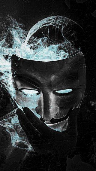 Обои на телефон хакер, маска, дым, вендетта, анонимус, vendetta mask, hackers, anonym