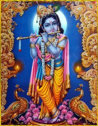 Обои на телефон шри, кришна, индийские, бог, sri krishna