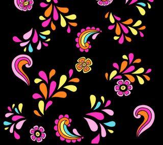 Обои на телефон цветы, абстрактные, power, flower power 2