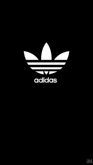 Обои на телефон спорт, черные, логотипы, адидас, adidas black sport, adidas