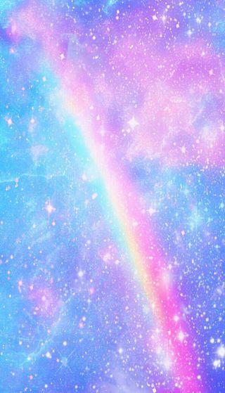 Обои на телефон туманность, вселенная, радуга, небо, звезды, звезда, галактика, rainbow in a galaxy, galaxy