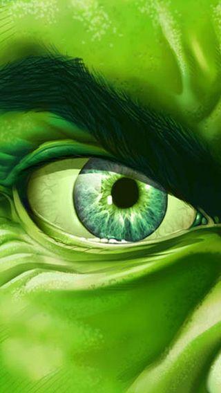 Обои на телефон халк, зеленые, глаза, hulk eye