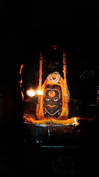 Обои на телефон махакал, символ, махадев, индийские