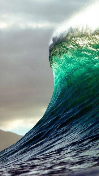 Обои на телефон волна, океан, ocean wave, jnhg, jgv