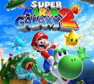 Обои на телефон супер, мультфильмы, марио, игра, галактика, galaxy nexus