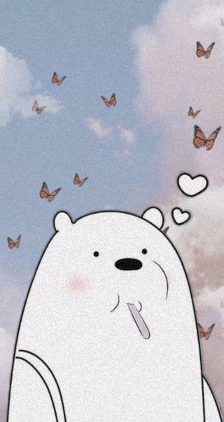Обои на телефон эстетические, розовые, полярный, милые, вся правда о медведях, osos escandalosos, osos, mariposas, lindo
