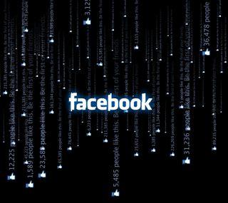 Обои на телефон фейсбук, технологии, матрица, facebook matrix