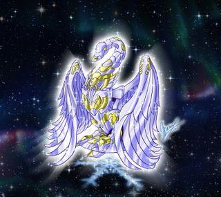Обои на телефон святой, зодиак, аниме, zodiaco, sekishiki, seiya, cisne