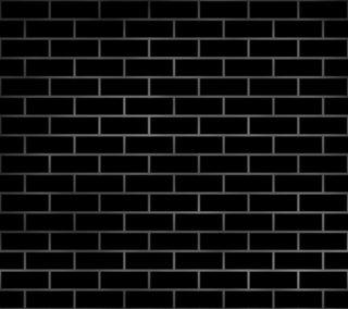 Обои на телефон кирпичи, черные, стена, абстрактные, brickwall black 18