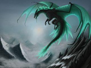 Обои на телефон дракон, dragon