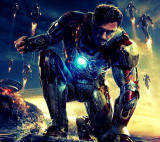 Обои на телефон фильм, железный человек, железный, iron 3
