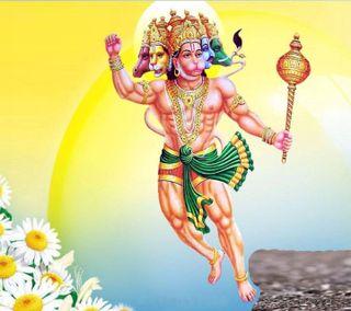 Обои на телефон хануман, милые, бог, panchmukha hanuman