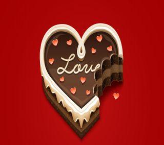 Обои на телефон торт, счастливые, сердце, милые, любовь, день рождения, love cake, love