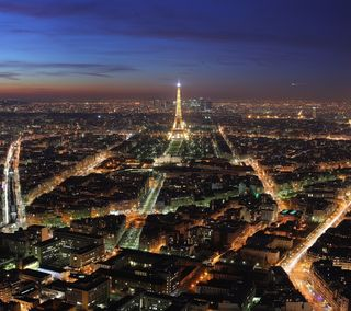 Обои на телефон эйфелева башня, франция, тур, париж, огни, город, башня, big