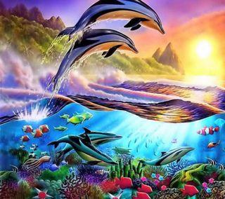 Обои на телефон good, underwater life, приятные, жизнь, подводные