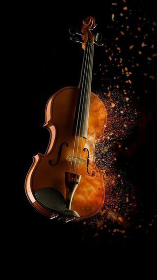 Обои на телефон фантастические, музыка, violino fantastic, strumenti