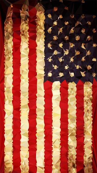 Обои на телефон абстрактные, фон, флаг, хипстер, американские, фотошоп, низкий, поли