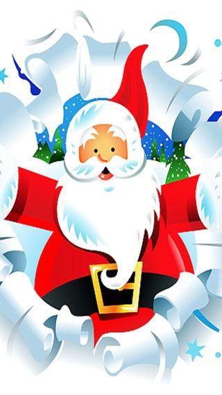 Обои на телефон случаи, санта, рождество, праздник